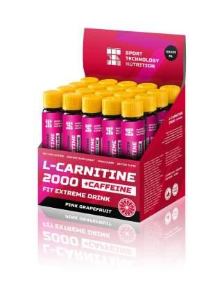 Нпо Ст Л-Карнитин 2000 плюс кофеин 25 мл (вкус: розовый грейпфрут)