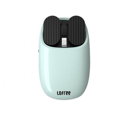 Беспроводная мышь Lofree Maus Green