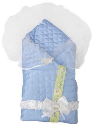 Одеяло на выписку L'Abeille Мила 6402 голубой