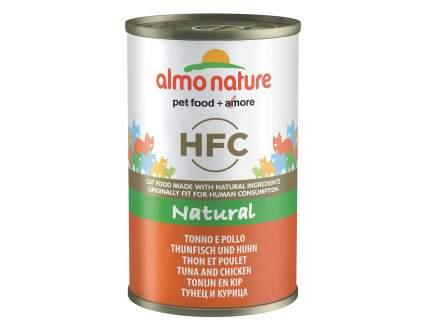 Консервы для кошек Almo Nature HFC Natural, курица и тунец, 140г
