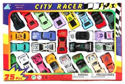Наборы игрушечного транспорта Global Way Shares City Racer 25 спортивных машин