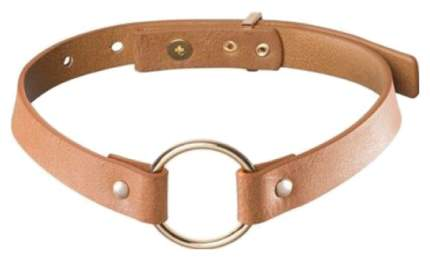 Чокер Bijoux Indiscrets Maze Single Choker коричневый