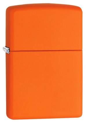 Бензиновая зажигалка Zippo Classic 231 Orange Matte