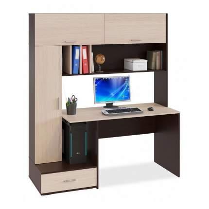 Компьютерный стол СОКОЛ КСТ-17 SK_76286, венге/дуб беленый