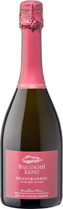 Игристое вино  Высокий Берег Розовое Экстра Брют