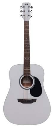 Акустическая гитара JET JD-257 WHS