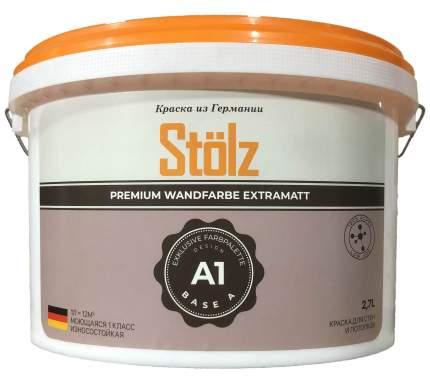 Краска для внутренних работ STOLZ ST0023,A1 Base C 2,7L
