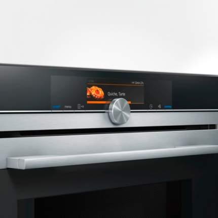 Встраиваемый электрический духовой шкаф Siemens CM678G4S1 Silver