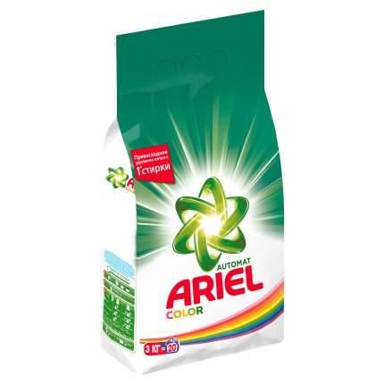 Порошок для стирки Ariel color&style 3 кг