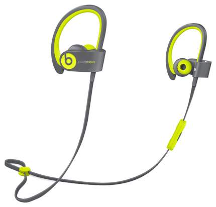 Беспроводные наушники Beats Powerbeats 2 Wireless Shock Yellow