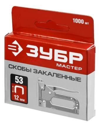 Скобы для электростеплера Зубр 31625-12
