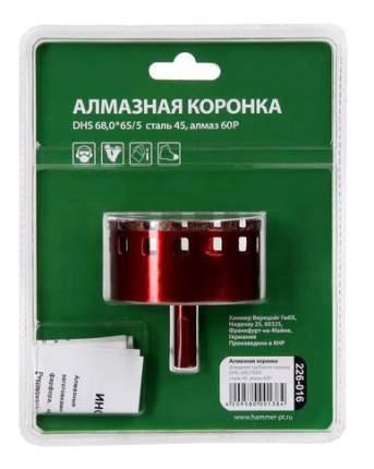 Алмазная коронка по керамограниту/стеклу Hammer Flex 226-016 (58979)