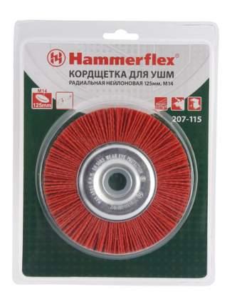 Дисковая кордщетка для угловых шлифмашин Hammer Flex 207-115 (62124)