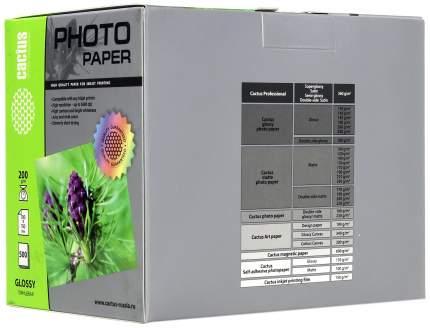 Фотобумага для принтера Cactus Standart CS-GA6200500 Белый 500 листов