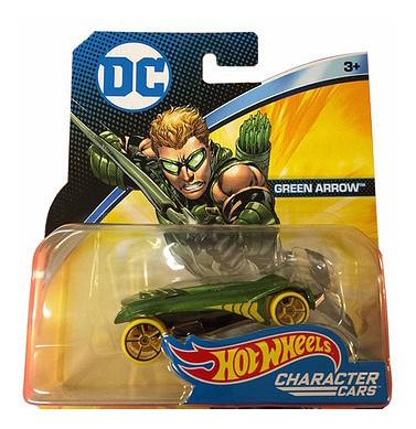 Машинка пластиковая Hot Wheels DC Green Arrow DKJ66 FGL67