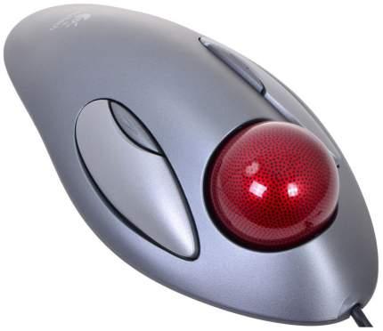 Проводная мышка Logitech Trackman Marble Grey (910-000808)