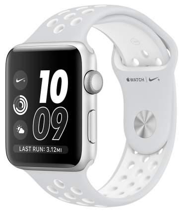 Смарт-часы Apple Watch Series 2 Nike+ 38mm Silver Al/White (MQ172RU/A)