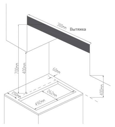 Встраиваемая варочная панель газовая Midea MG3260GW White
