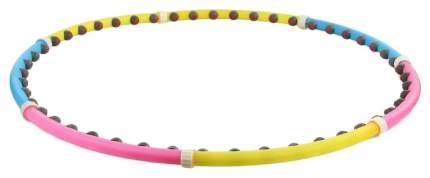 Массажный обруч Funbox Media 46 BD 100 см розовый/желтый/синий