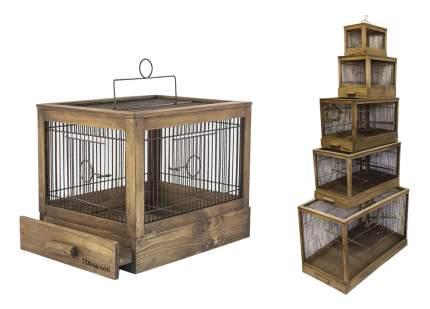 Клетка для птиц ZooM 31x23,5x25 8763пал