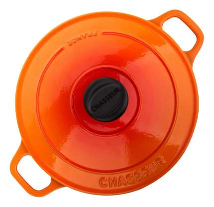 Кастрюля для запекания CHASSEUR Чугунная 3,8 л оранжевый
