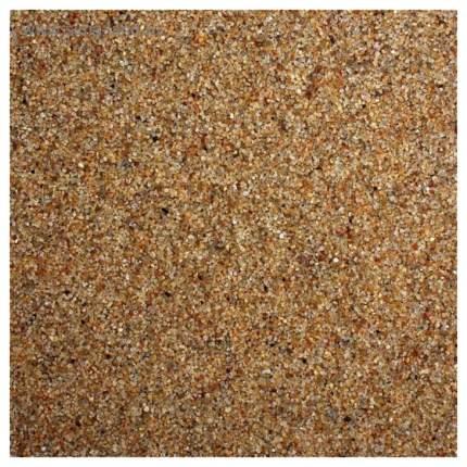 Янтарный песок для аквариумов и террариумов UDeco River Amber, бежевый, 0,4-0,8 мм, 6 л
