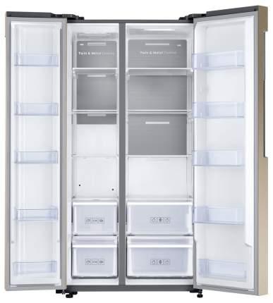 Холодильник Samsung RS62K6130FG Gold