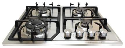 Встраиваемая варочная панель газовая Ginzzu HCG-418 Silver