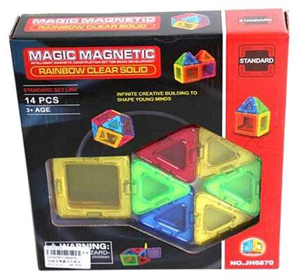 """Конструктор Наша игрушка """"Magic magnetic"""" магнитный 14 дет."""