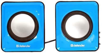 Колонки компьютерные DEFENDER SPK 22 Синий 2x2,5Вт (65501)