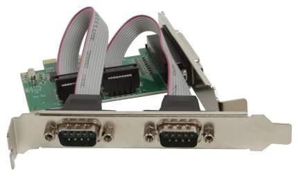 PCI-e контроллер LPT+COM ORIENT XWT-PE2S1PV2 WCH CH382 chipset