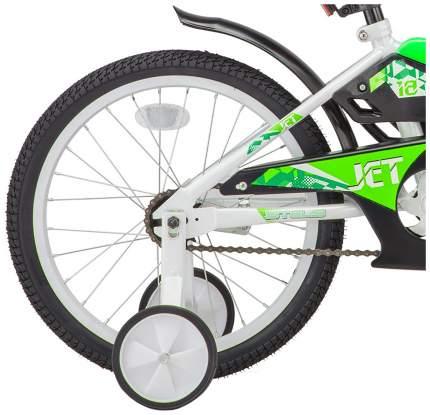 Велосипед STELS Jet 16 (Z010) белый/салатовый