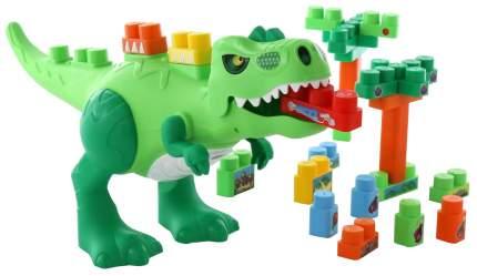Конструктор пластиковый Полесье Динозавр 30 элементов