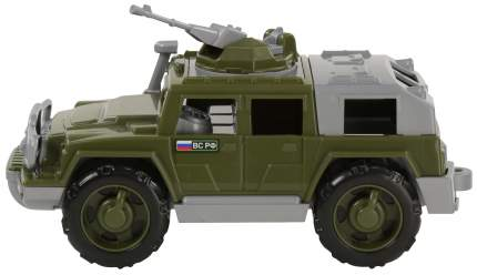 Автомобиль-джип Полесье военный Защитник №1 с 1-м пулемётом