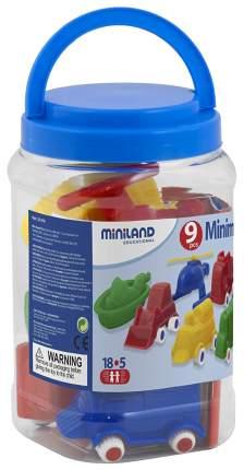 Miniland Набор Минитраспорт 8 моделей, арт. MIN 27470