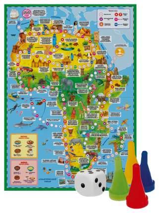Семейная настольная игра Геодом Вокруг света Африка