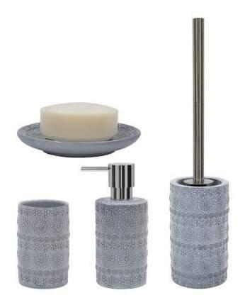 Дозатор для жидкого мыла Spirella Relief Серый