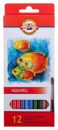 Карандаши цветные Koh-I-Noor Рыбки 12 цветов