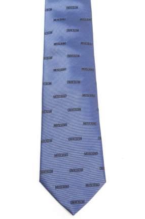 Галстук мужской MOSCHINO M00000007-MO синий