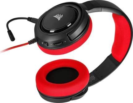 Игровая гарнитура Corsair Gaming HS35 CA-9011198-EU (Red)