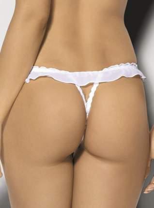Соблазнительные трусики-стринги Anais Igazi с подвеской, белые, S