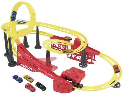 Трек Halsall Toys Int Тайфун с 10 машинками