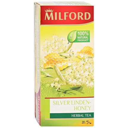 Чай травяной Milford Silver Linden-Honey 20 пак