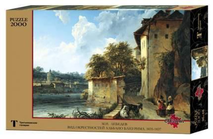 Пазл Стелла Вид окрестностей Альбано близ Рима 2000 элементов