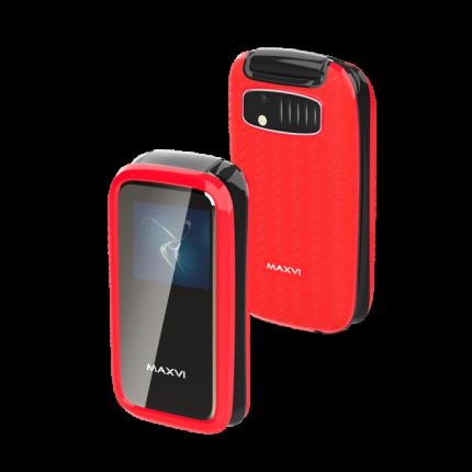 Мобильный телефон Maxvi E2 Red