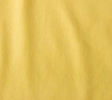 Простыня трикотажная на резинке (горчица) 90х200х20