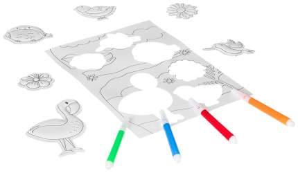3D-наклейки Bondibon Машинки, самолеты, корабли