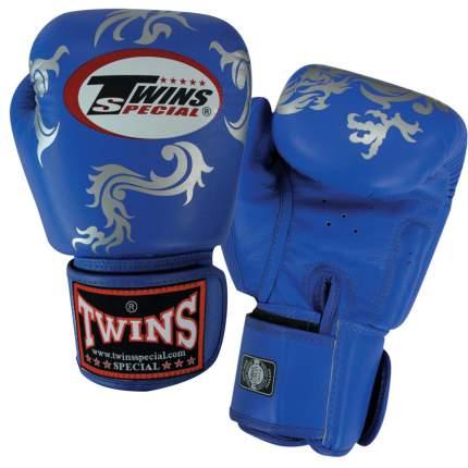 Боксерские перчатки Twins Special FBGV-30 синие 10 унций