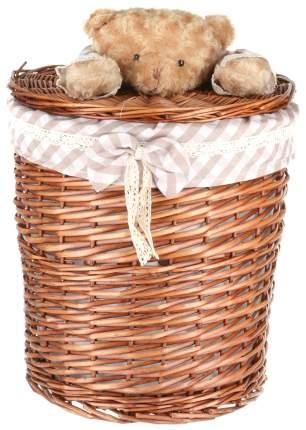 Корзина для хранения игрушек Natural House Медвежонок M коричневый
