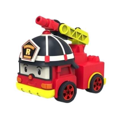 Машинка пластиковая Robocar Poli Рой с аксессуарами